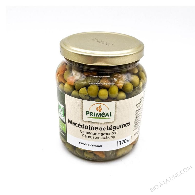 macedoine de legumes - 370 ml