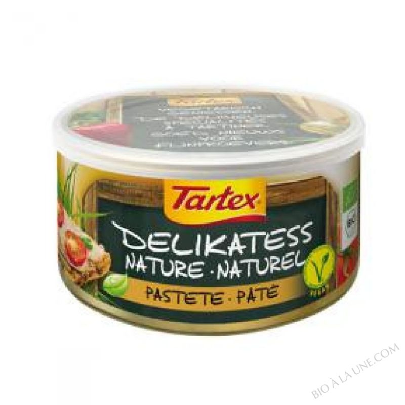 Specialite vegetale Nature 125g