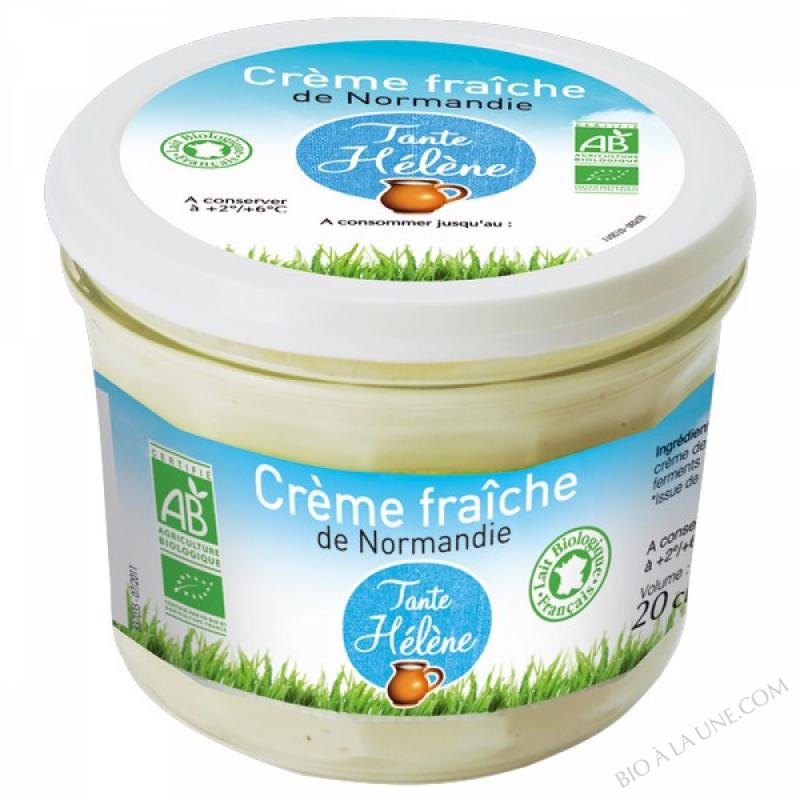 Fromage blanc 0 m g 4x100g tante helene bio la une - Congeler de la creme fraiche ...