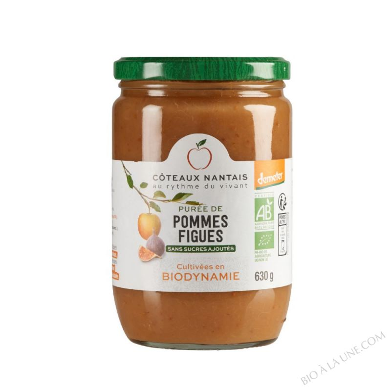 Puree pommes figues 630 g