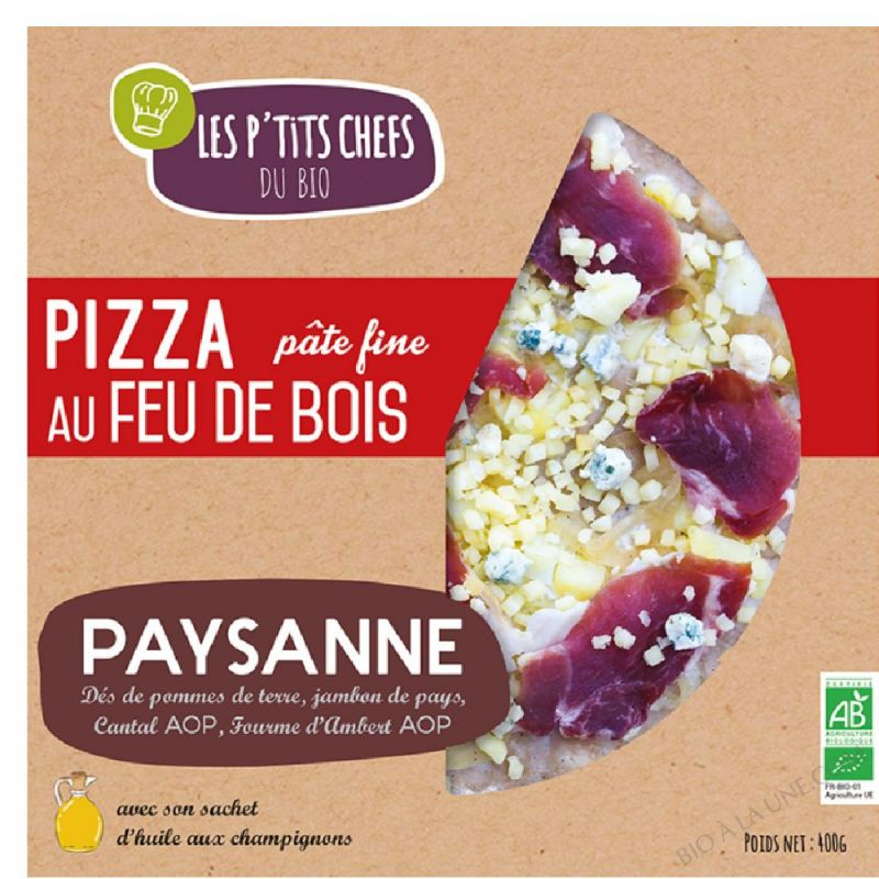 PIZZA PAYSANNE - 400g
