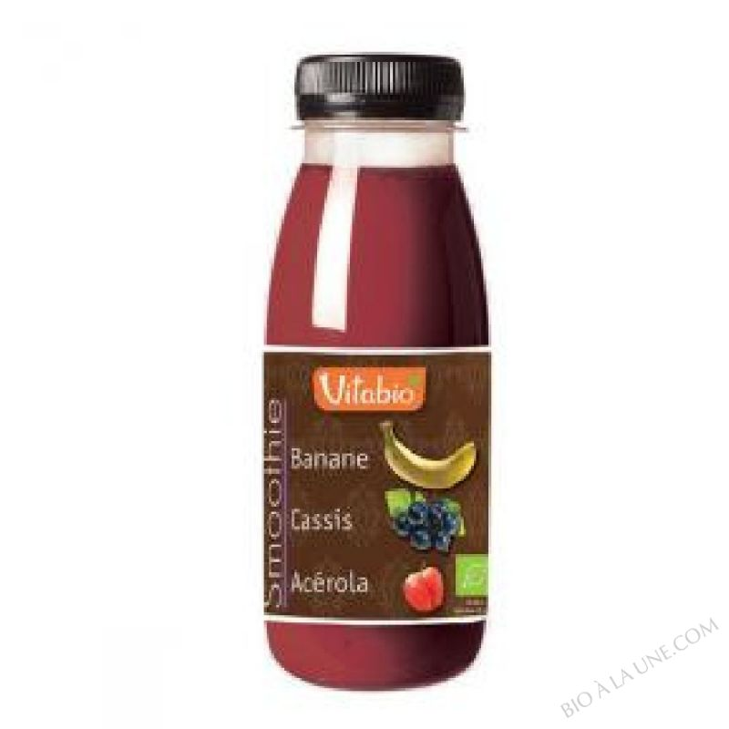 Smoothie Banane Cassis - 250ml