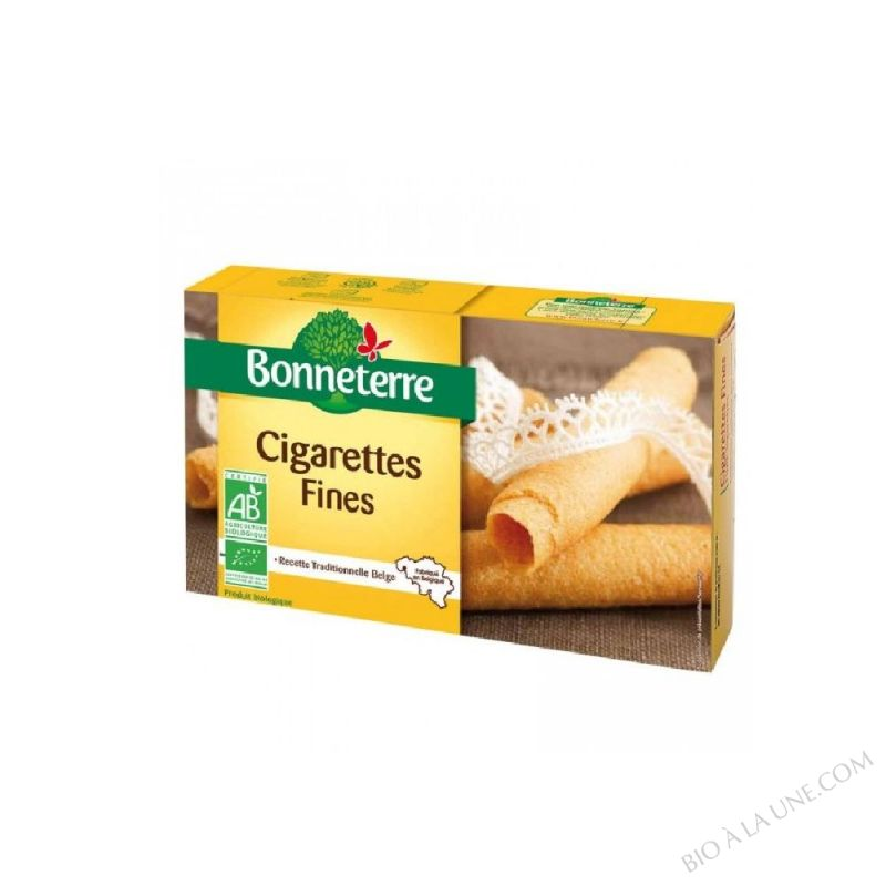 CIGARETTES FINES BIO 125G