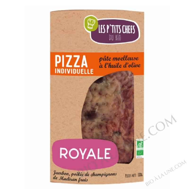 Pizza individuelle royale - 180 g