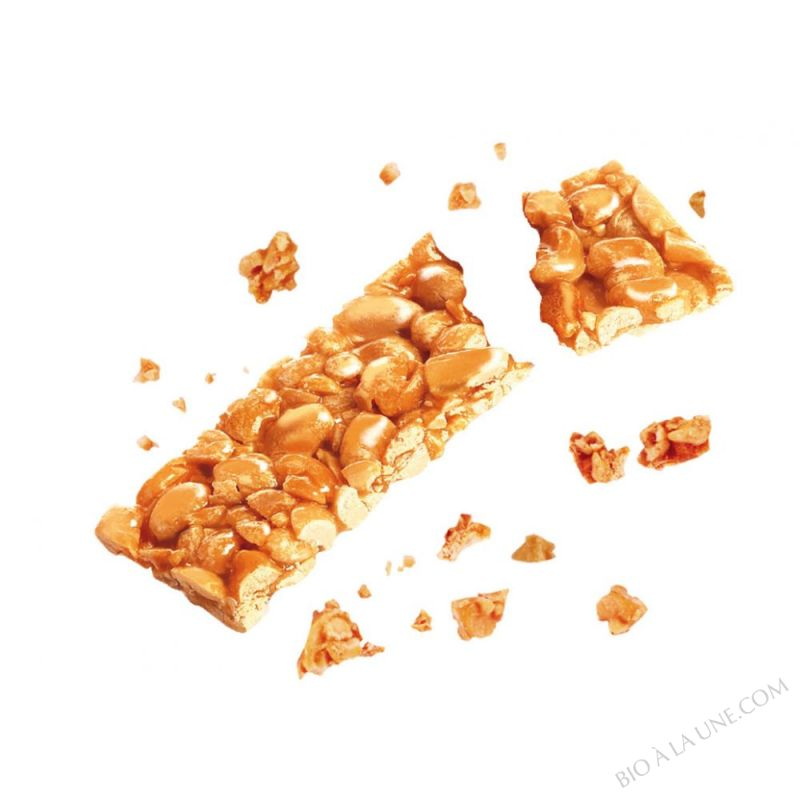Barre Cacahuete Ronde D'Agrumes x2 barres 25g