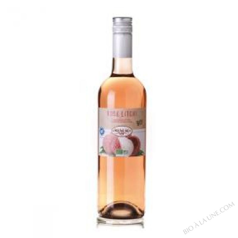 Vin Rose Litchi 75cl