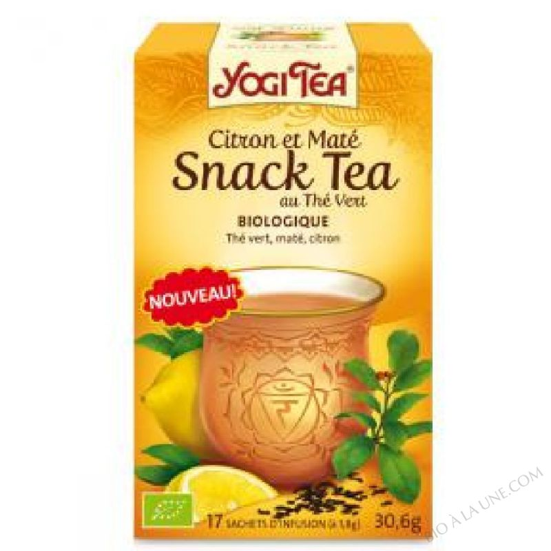 Snack Tea Citron et Mate 17 infusettes