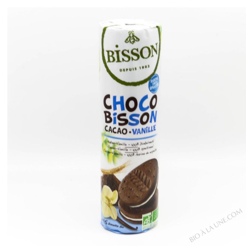 BISCUITS CHOCO BISSON CACAO VANILLE - 300G
