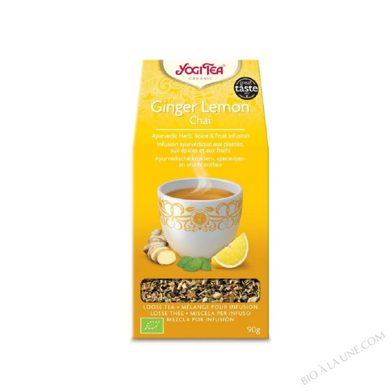 Infusion vrac Ginger Lemon Chai 90g