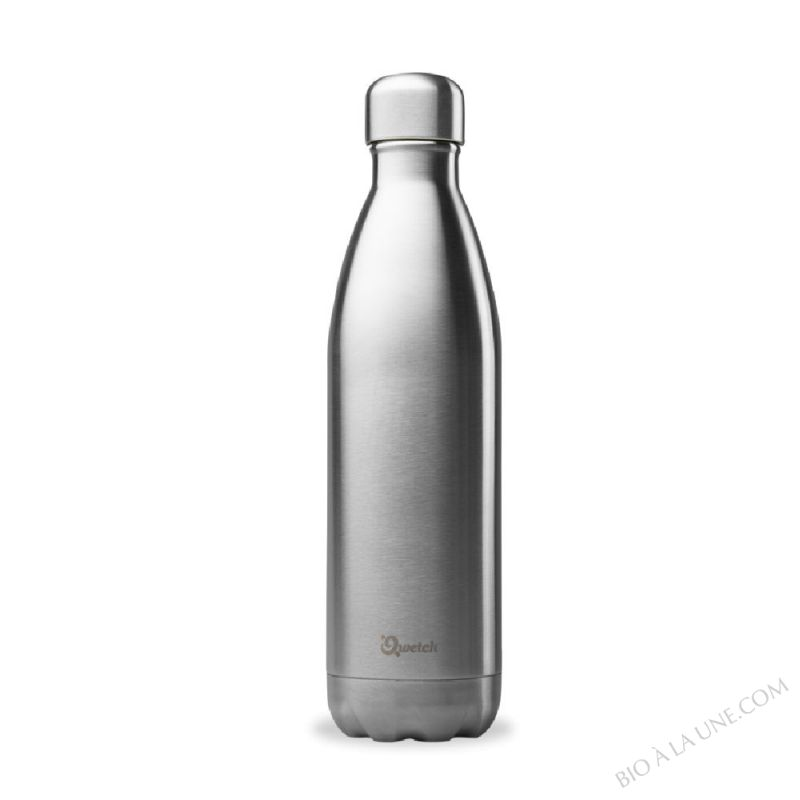 Bouteille isotherme Inox brossé - 750ml