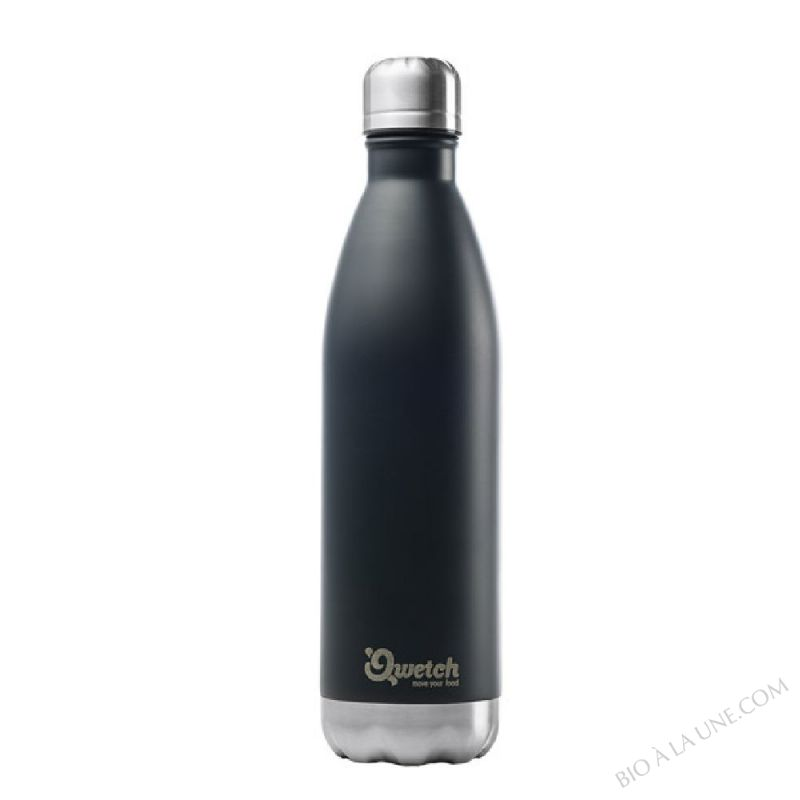 BOUTEILLE NOMADE NOIR ISOTHERME 750ML QWETCH