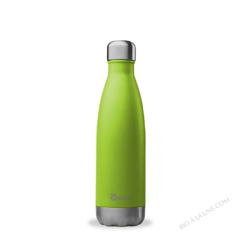BOUTEILLE NOMADE VERT ISOTHERME 500ML QWETCH