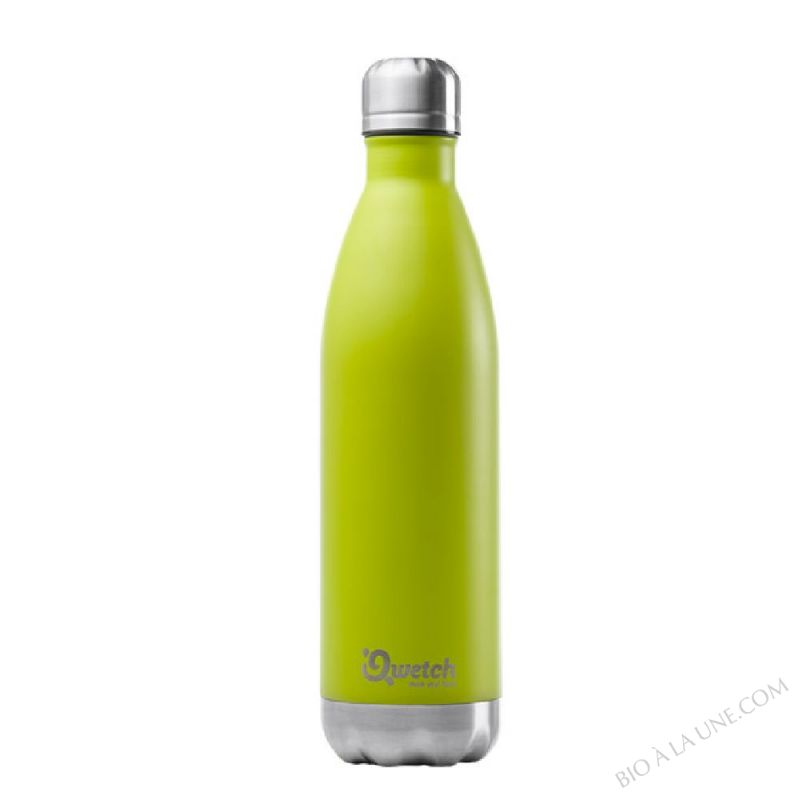 BOUTEILLE NOMADE VERT ISOTHERME 750ML QWETCH