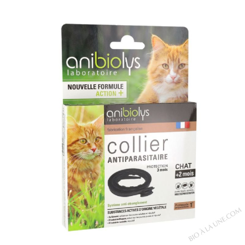 Collier antiparasitaire 35cm Chat