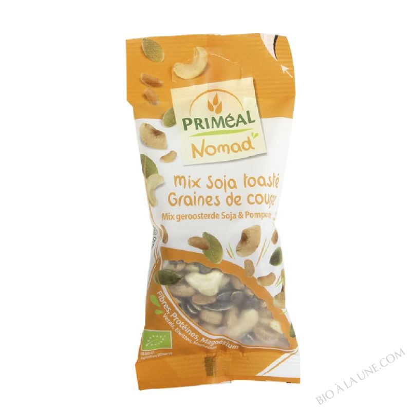 Mix Soja toasté Graines de courge - 40g