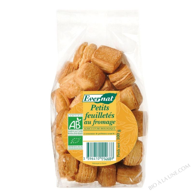 PETITS FEUILLETES AU FROMAGE - 100 G