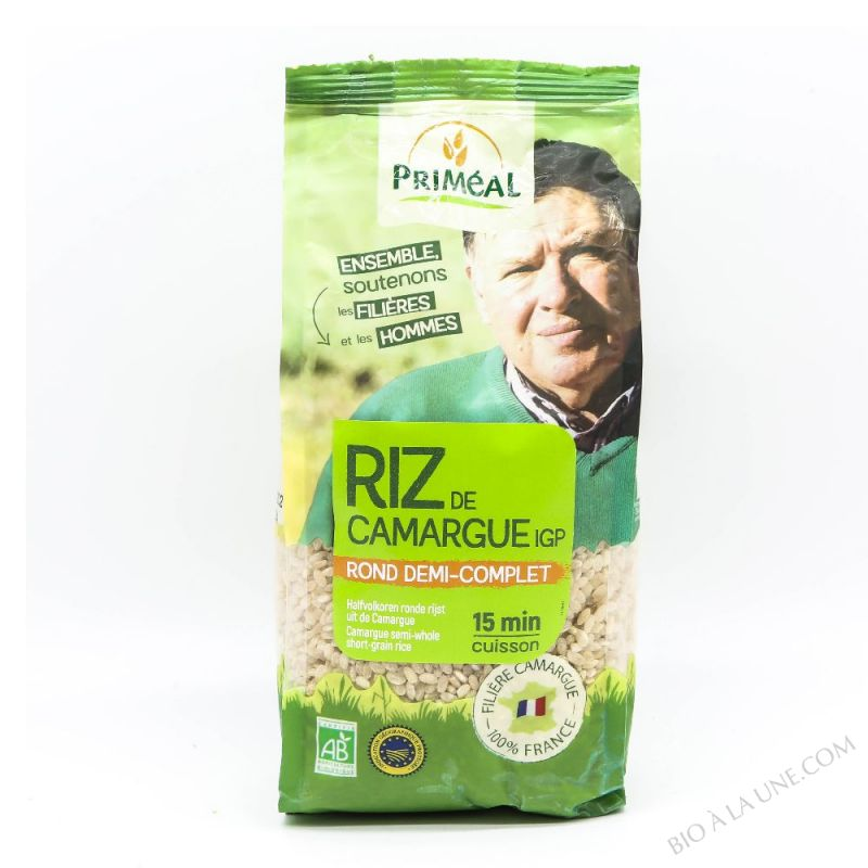 Riz Rond 1/2 Complet Camargue 500g
