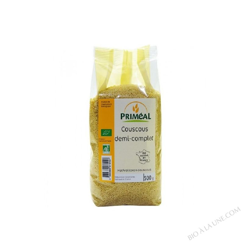couscous demi-complet de France - 500 g