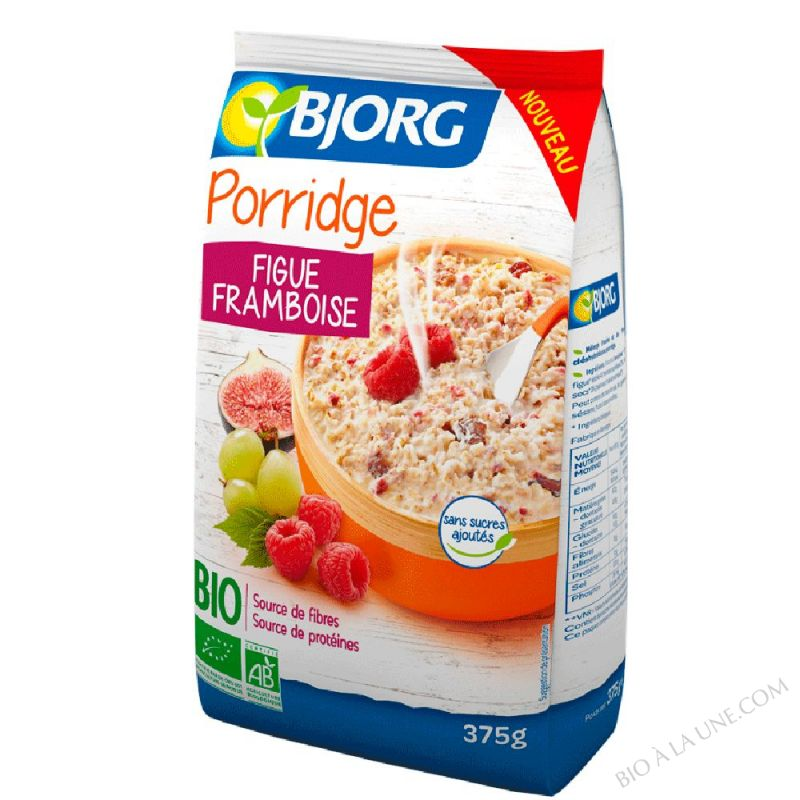 Porridge figue framboise - 375 g