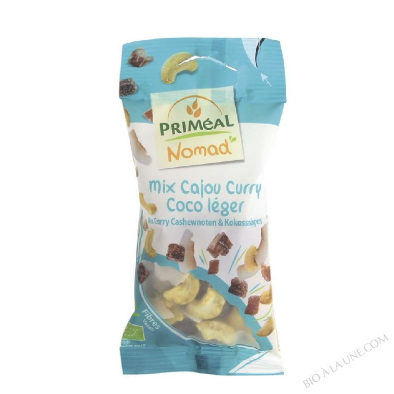 Mix Cajou curry Coco léger - 40g