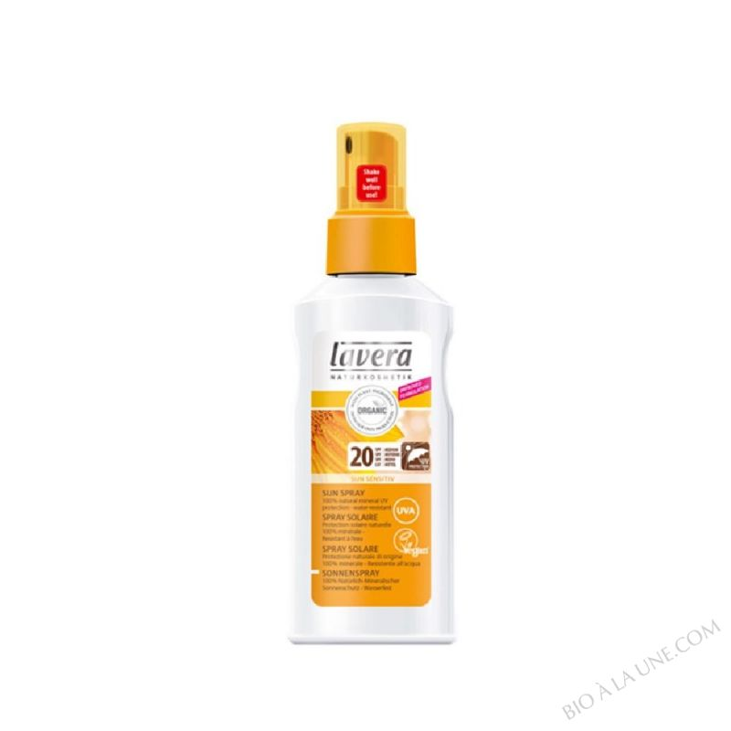 Spray solaire FPS 20