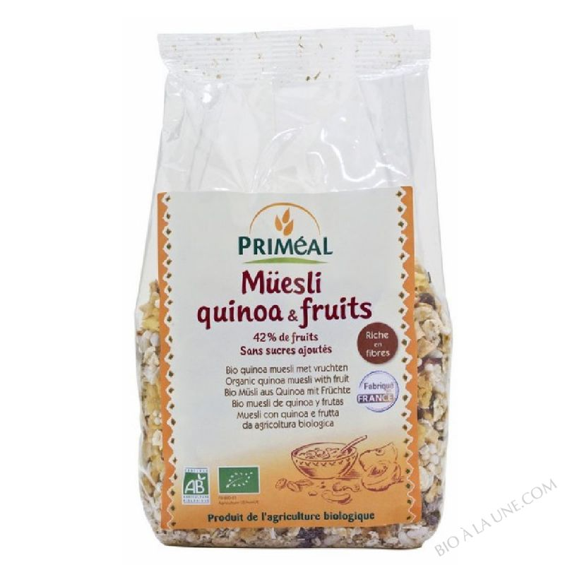 Muesli Quinoa & Fruits 350 g