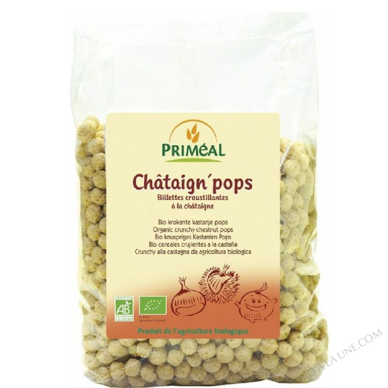 chataign' pops - 375 g