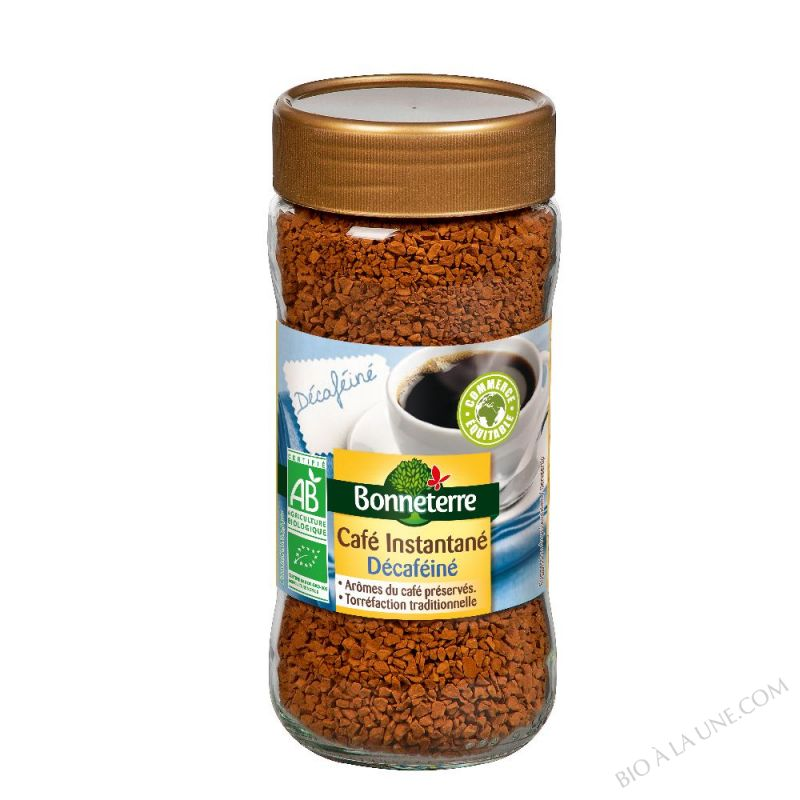 CAFE LYOPHILISE DECAFEINE PUR ARABICA 100GR