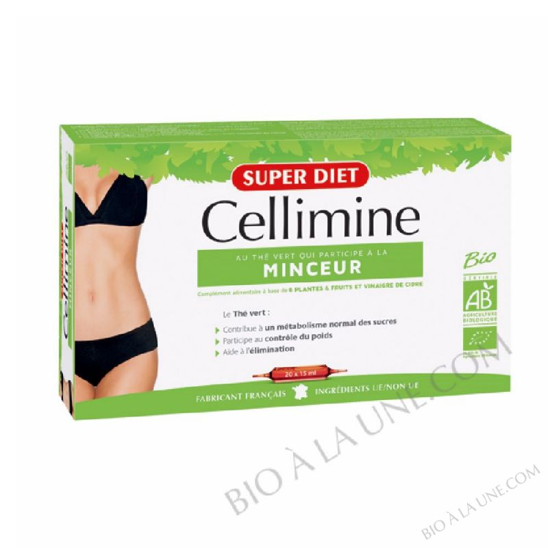 CELLIMINE AMPOULES 15ML (20) SUPER DIET