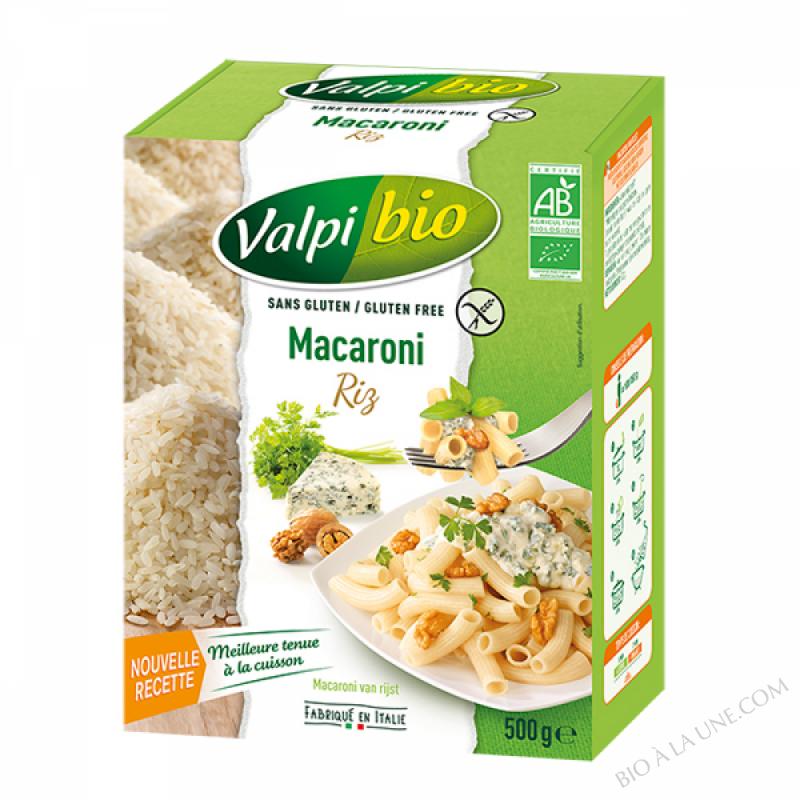 Macaroni mais sarrasin bio 500g valpibio bio la une - Magasin bio arras ...