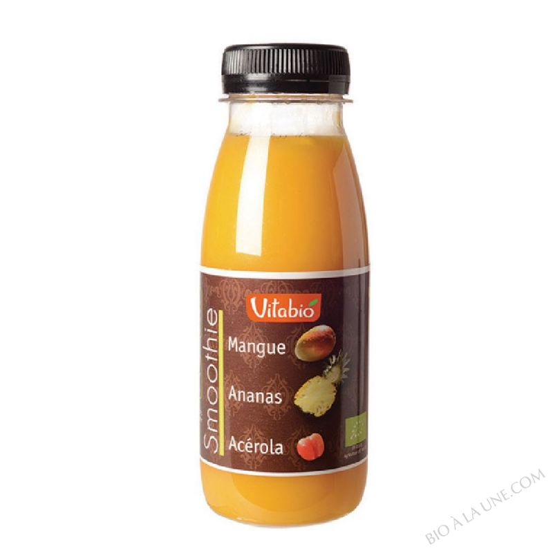 Smoothie Mangue Ananas Acérola PET -  - 25cl