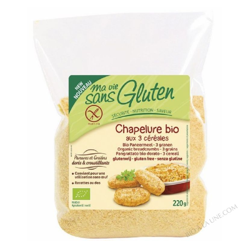 CHAPELURE 3 CEREALES - 220G