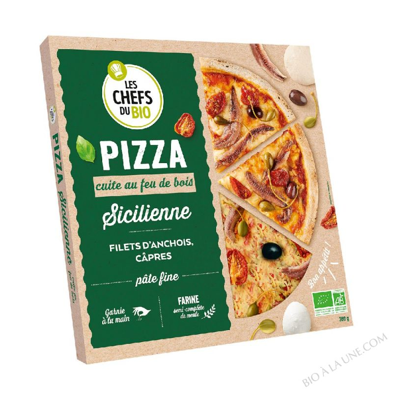 Pizza Sicilienne - 400 G