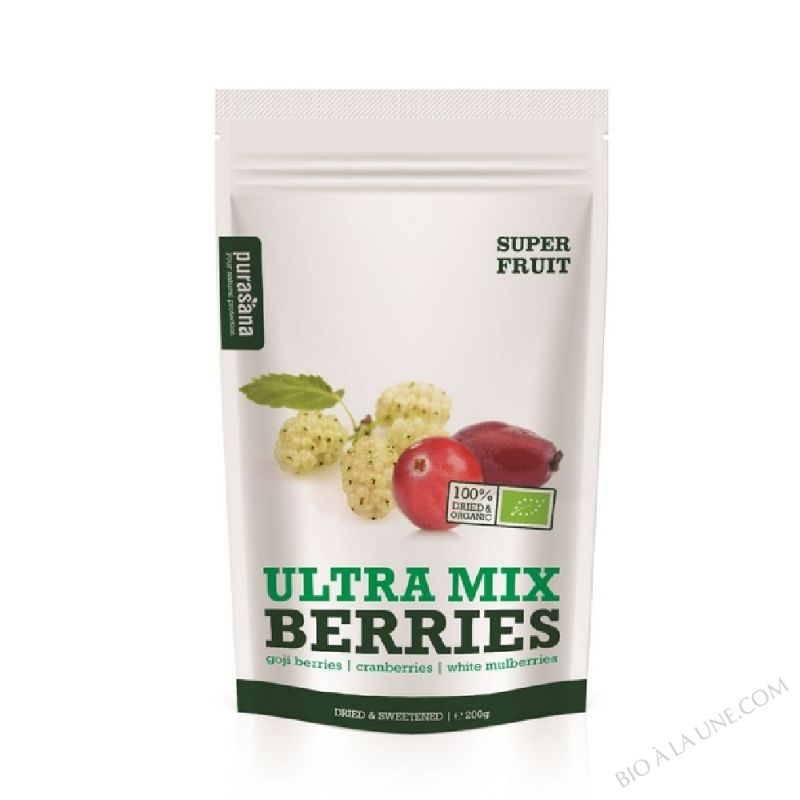 Ultra Mix Berries Bio 200 Gr