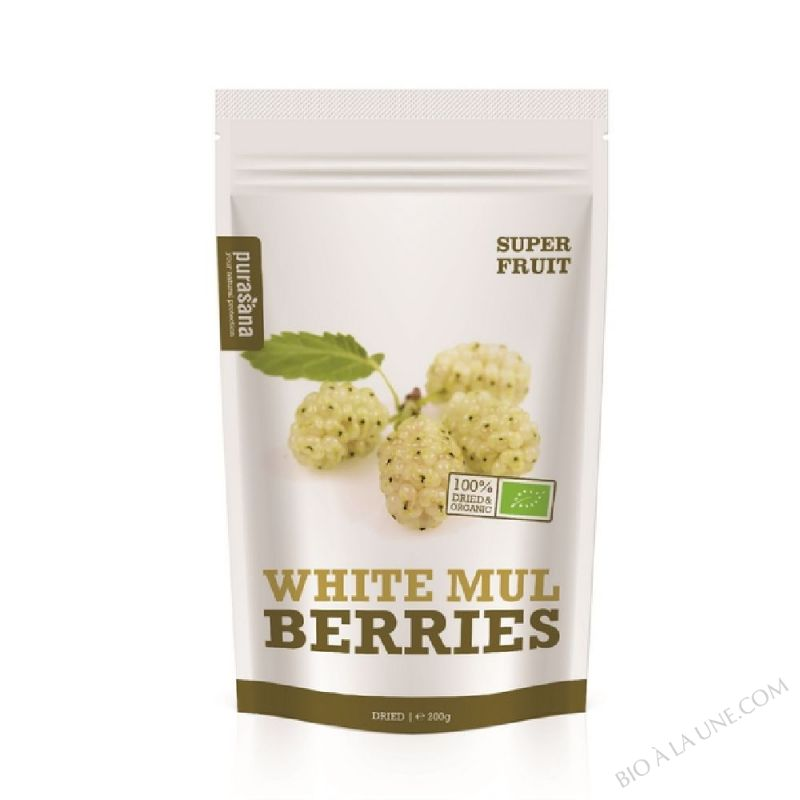 White Mulberries Bio 200 Gr