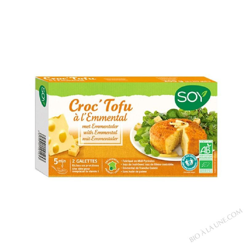 CROC TOFU FROMAGE 2X100 GR