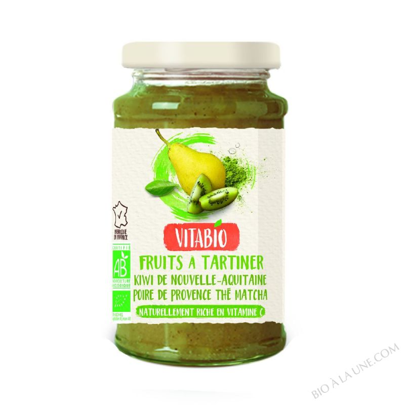 Tartinable Antioxydant Poire Kiwi The Matcha 290g