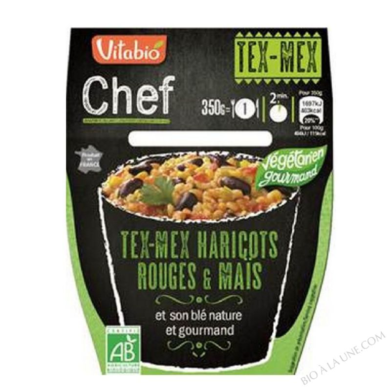 TEX-MEX HARICOTS ROUGES & MAIS 350G