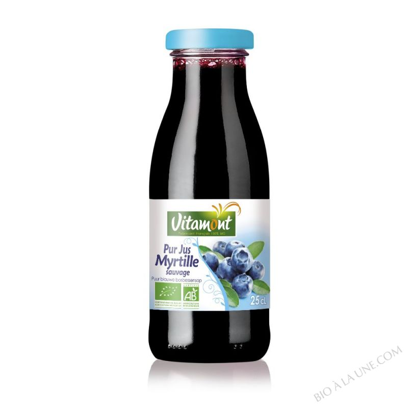 Mini Pur Jus de Myrtilles Bio 25cL