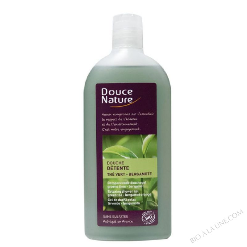Douche Detente The vert et Bergamote 300ml