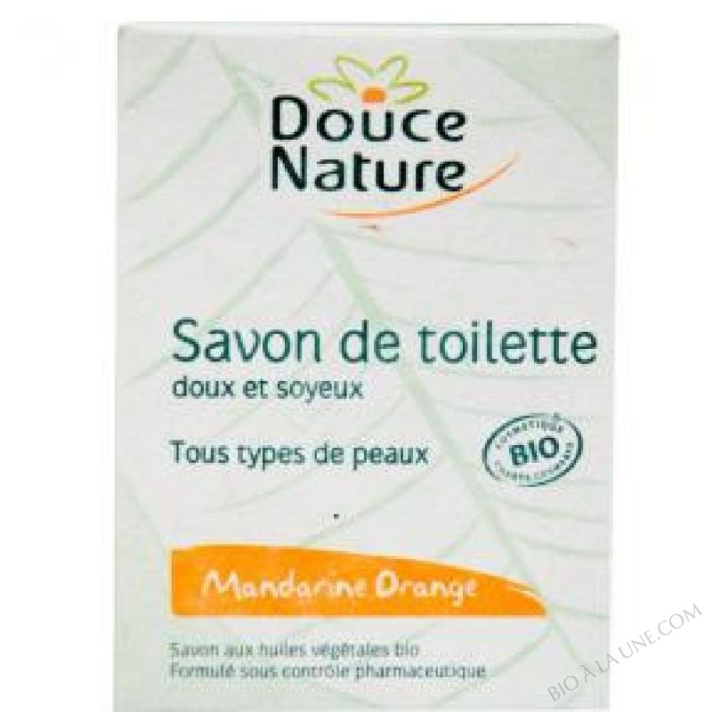 Savon de toilette Mandarine Orange Bio 100g