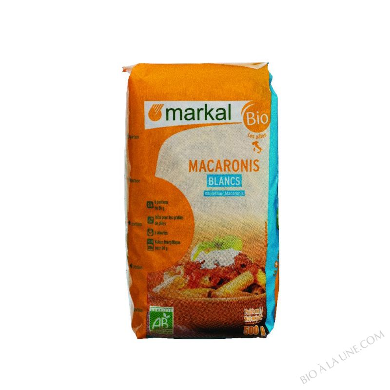 Macaronis blancs 500g