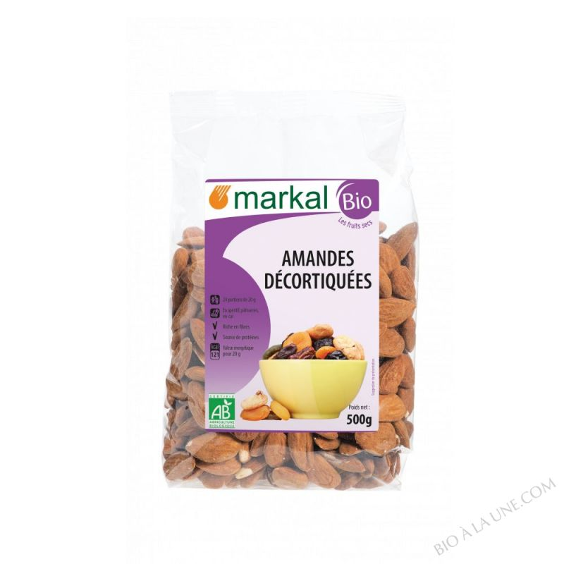 Amandes Decortiquees 500g