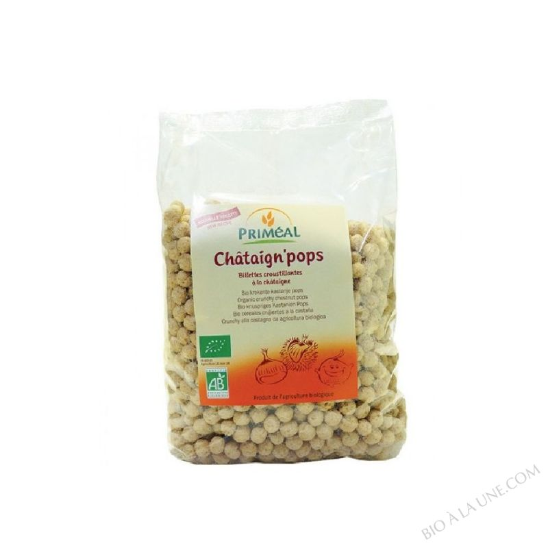chataign' pops - 200 g