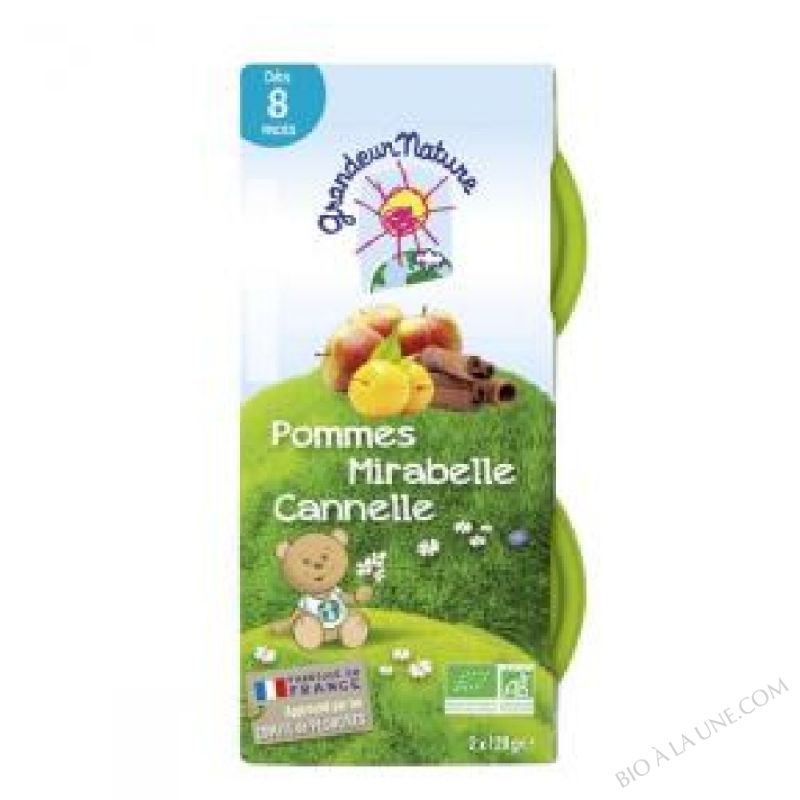Puree Pomme Mirabelle 2x120g