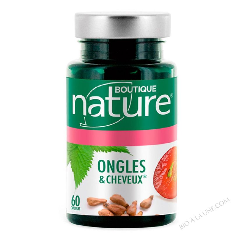 Ongles & Cheveux - 60 capsules marines