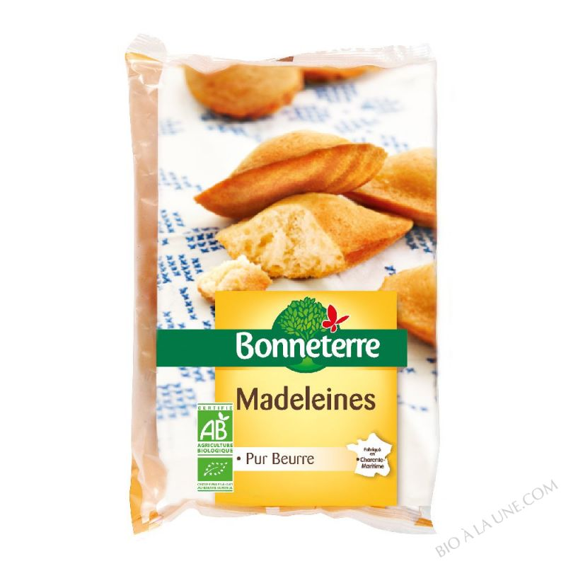 MADELEINES (PUR BEURRE) 225GR