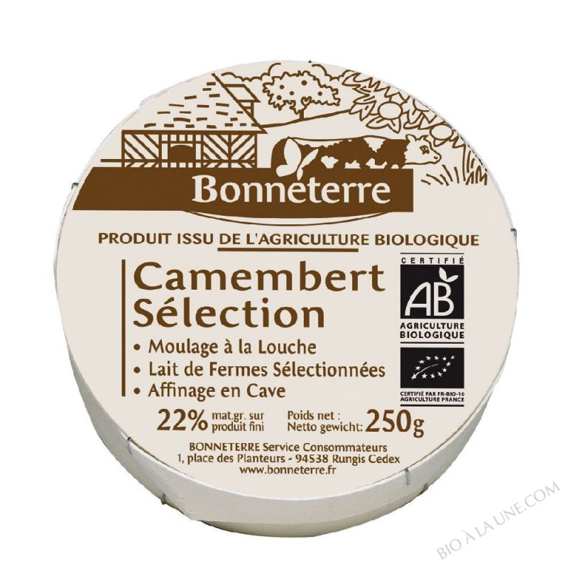CAMEMBERT SELECTION - 250 G