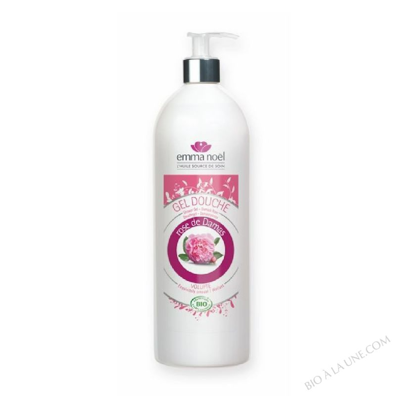 Gel douche à la Rose de Damas BIO 1 L