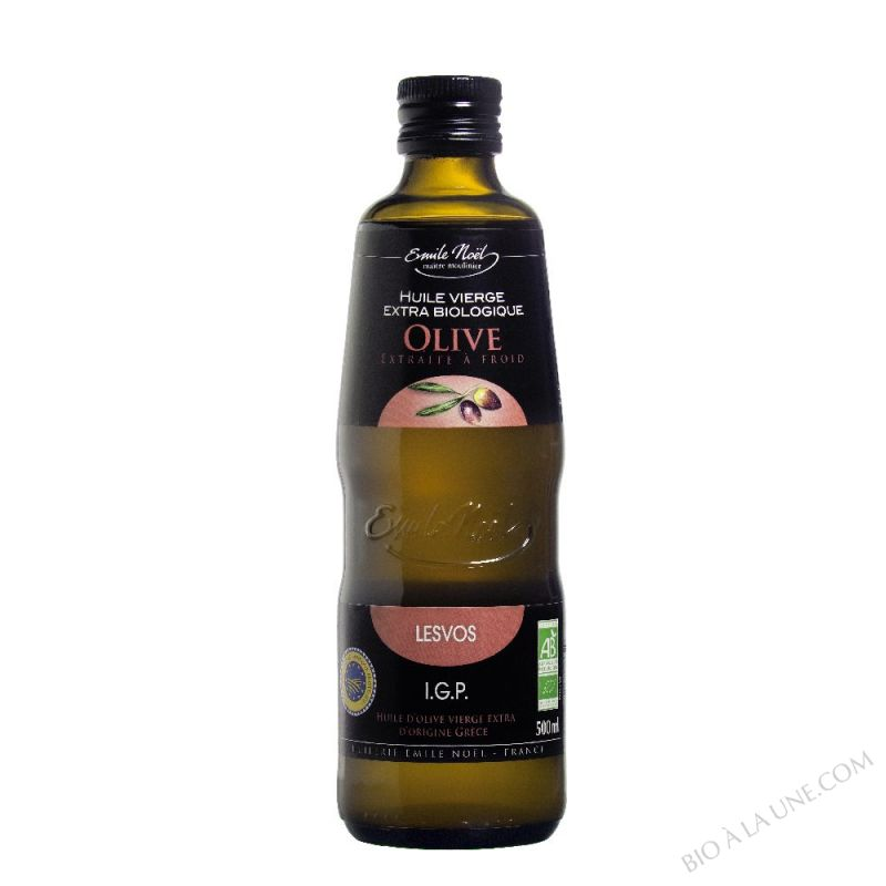 Huile d'Olive Vierge Extra IGP bio Lesvos (1/2L)